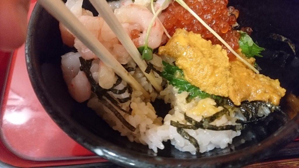 ザ・どんの海鮮三昧丼