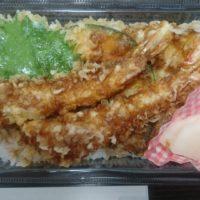 彦根城近く夢京橋キャッスルロードにある 十割蕎麦もんぜんや で、天ぷらたっぷりの天めしをテイクアウト!