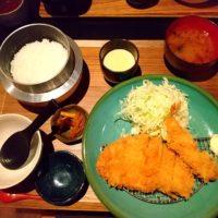 彦根にあるトンカツ屋さんのMIDORIYA。熟成豚肉を使用した豚カツに釜焚きご飯!店内も素敵でした